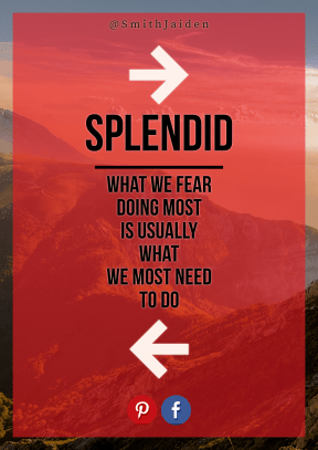 Print Quote Design - #Wording #Saying #Quote #sign #font #landforms #red #direction #scenery #brand #mountains #symbol #logo