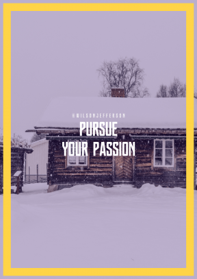 Print Quote Design - #Wording #Saying #Quote #white #house #cottage #and #snow #log #residential