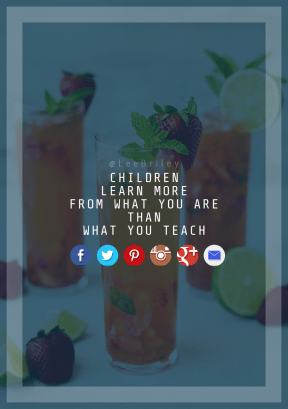Print Quote Design - #Wording #Saying #Quote #brand #juice #punch #red #font #azure #text #graphics #blue #tea