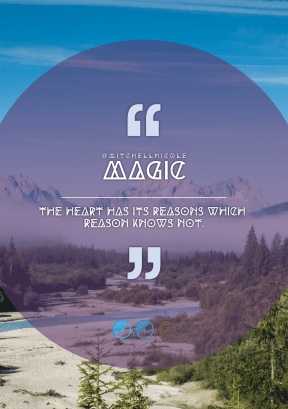 Print Quote Design - #Wording #Saying #Quote #azure #mountain #misty #circles #symbols #shapes #circular #nature