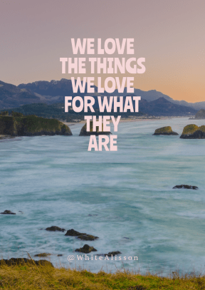 Print Quote Design - #Wording #Saying #Quote #coast #green #sunset #bay #washing #with #water