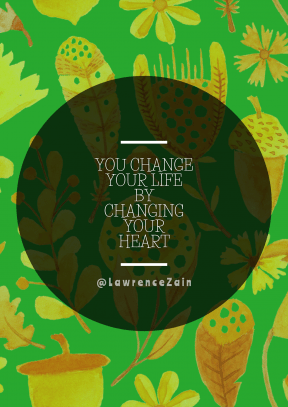 Print Quote Design - #Wording #Saying #Quote #leaf #drum #music #petal #plant #circles #flora #yellow #circular