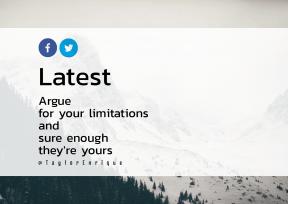 Print Quote Design - #Wording #Saying #Quote #mountainous #trademark #snow #massif #art #sky #font
