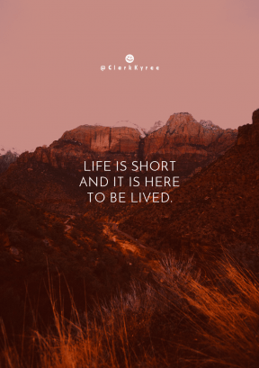 Print Quote Design - #Wording #Saying #Quote #View #from #National #Zion #sky #rock #face #highland #Park