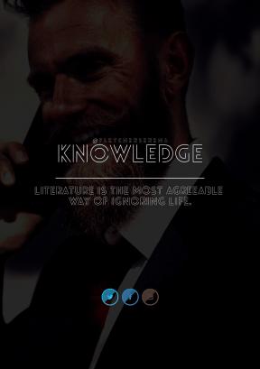 Print Quote Design - #Wording #Saying #Quote #aqua #gentleman #symbol #sign #smiling #facial #line #moustache