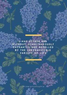 Print Quote Design - #Wording #Saying #Quote #plant #lilac #lavender #purple #flower