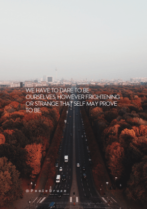 Print Quote Design - #Wording #Saying #Quote #with #Tree-lined #morning #highway #horizon #dawn #sky #infrastructure #Siegessäule #skyline.