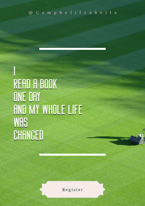 Quote Layout for Print - #Saying #Quote #CallToAction #Wording #Park #sport #golf #sign #mowing