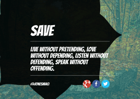 Print Quote Design - #Wording #Saying #Quote #brand #strips #forest #product #bands #shapes #blue #nature