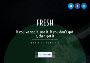 Quote Layout for Print - #Saying #Quote #CallToAction #Wording #rounded #blue #shore #ocean #brand #circle