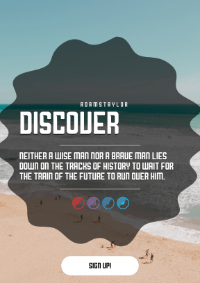 Quote Layout for Print - #Saying #Quote #CallToAction #Wording #clip #decorative #Ocean #technology #wavy #purple