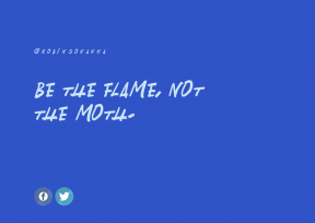 Quote Design for Print - #Quote #Wording #Saying #blue #line #graphics #shape #circular