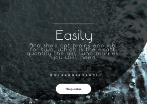 Quote Layout for Print - #Saying #Quote #CallToAction #Wording #drop #round #circular #ice #shapes #water #rain #texture