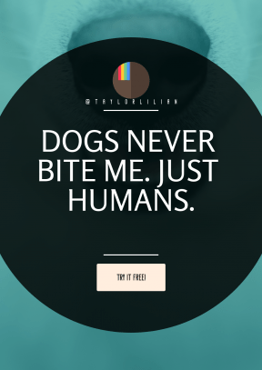 Quote Layout for Print - #Saying #Quote #CallToAction #Wording #interface #symbol #squares #snout #shape #dog