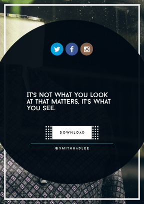 Quote Layout for Print - #Saying #Quote #CallToAction #Wording #geometric #tree #electric #circle #rectangles