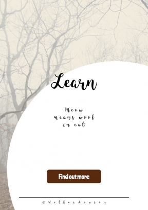 Quote Layout for Print - #Saying #Quote #CallToAction #Wording #mist #tree #winter #fog #woodland #stop #button #ecosystem #music #circular