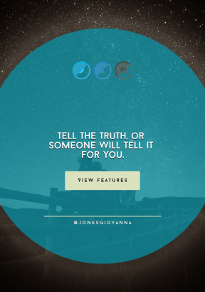 Quote Layout for Print - #Saying #Quote #CallToAction #Wording #darkness #azure #crescent #shapes #button #graphics #text #product #sky