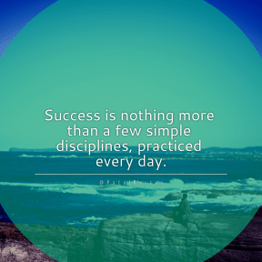 Square design layout - #Saying #Quote #Wording #promontory #beach #coast #oceanic #black #circles #shapes #top #horizon