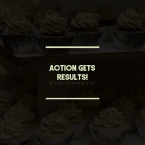 Square design layout - #Saying #Quote #Wording #buttercream #flavor #food #icing #with #Tiers #muffin #cupcake
