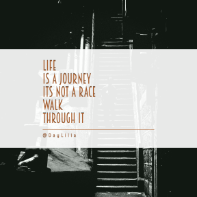Square design layout - #Saying #Quote #Wording #street #stairs #and #monochrome #white #noir #film #photography #darkness #black