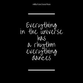 Square Quote Design - #Wording #Saying #Quote