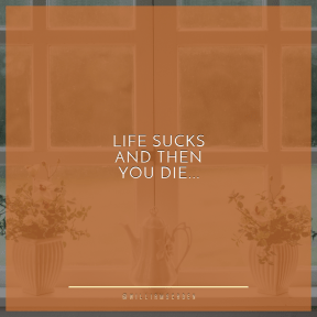 Square design layout - #Saying #Quote #Wording #between #shade #window #plants #sash #porcelain