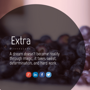 Square design layout - #Saying #Quote #Wording #sign #rectangle #font #line #berry #blue #text #circular #brand #fruit
