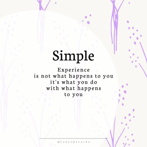 Square design layout - #Saying #Quote #Wording #pattern #design #essentials #lilac #circular #shapes