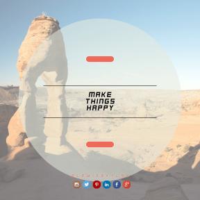 Square design layout - #Saying #Quote #Wording #blue #sign #adding #line #signage #logo #wing #landscape