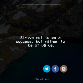 Square design layout - #Saying #Quote #Wording #inlet #font #cliff #geological #product