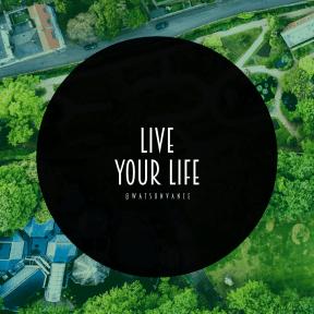 Square design layout - #Saying #Quote #Wording #view #shrub #circles #suburb #circle