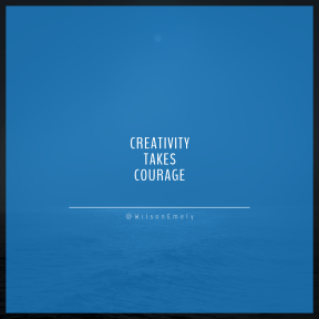 Square design layout - #Saying #Quote #Wording #wind #over #dark #moonlight #sea #wave