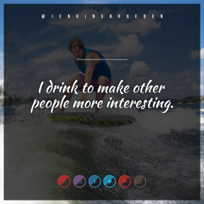Square design layout - #Saying #Quote #Wording #clip #aqua #A #surfing #boardsport #violet #red