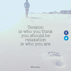 Square design layout - #Saying #Quote #Wording #graphics #woman #font #blue #art
