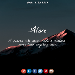 Square design layout - #Saying #Quote #Wording #blue #font #product #azure #signage #square #brand