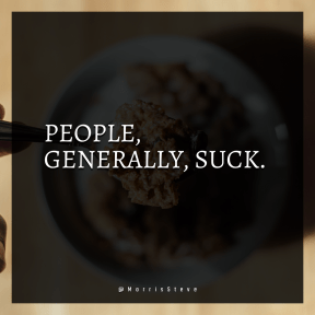 Square design layout - #Saying #Quote #Wording #ice #cereal #dish #person #spoon #flavor #breakfast #holding #full #over