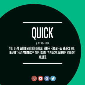 Square Quote Design - #Wording #Saying #Quote #font #add #product #computer #logo #button #graphics #line