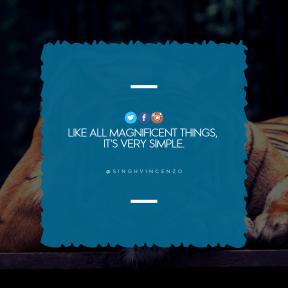 Square design layout - #Saying #Quote #Wording #product #jagged #beak #text #aqua