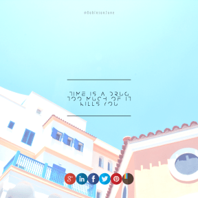 Square design layout - #Saying #Quote #Wording #product #sign #blue #beak #sky #logo #red