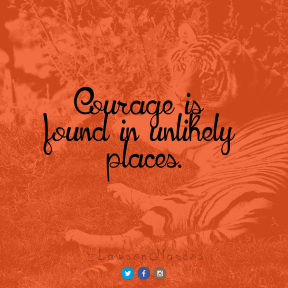 Square design layout - #Saying #Quote #Wording #blue #mammal #trademark #font #reserve #outstretched #tiger #A #logo