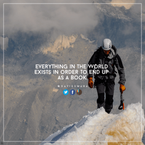 Square design layout - #Saying #Quote #Wording #circle #frames #grungy #clouds #azure #mountain #mountaineering #product