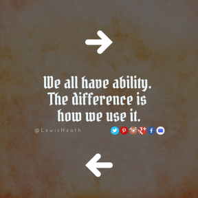 Square design layout - #Saying #Quote #Wording #font #arrows #orange #line #red #wallpaper