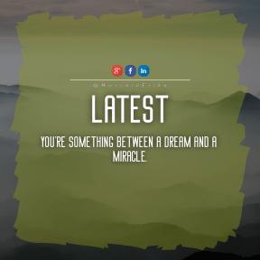 Square design layout - #Saying #Quote #Wording #blue #raggedborders #frame #fog #hill #font #cloud #mountain #range