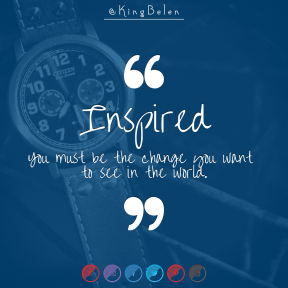 Square design layout - #Saying #Quote #Wording #crescent #product #brand #area #font #strap #watch
