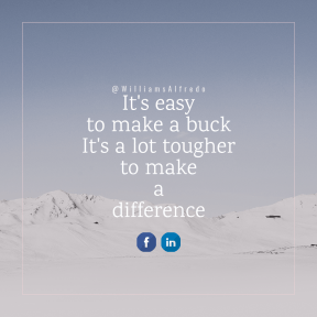 Square design layout - #Saying #Quote #Wording #fell #line #text #phenomenon #arctic #blue #winter #mountain #angle #snow