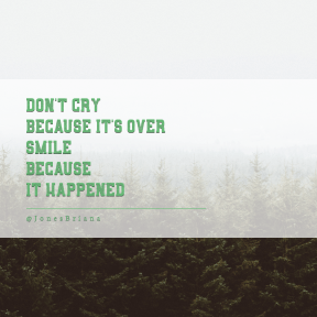 Square design layout - #Saying #Quote #Wording #forest #ecosystem #tree #grass #biome #vegetation #field #family #fog