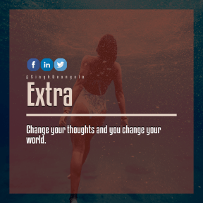 Square design layout - #Saying #Quote #Wording #A #swimmer #woman #bikini #product #swimming #brand