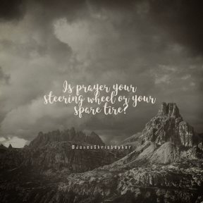 Square design layout - #Saying #Quote #Wording #station #mountain #sky #cloud #hill #ridge #range #rock #geological