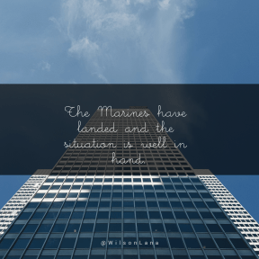 Square design layout - #Saying #Quote #Wording #exterior #skyscraper #corporate #tower #blue