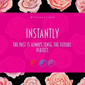 Square design layout - #Saying #Quote #Wording #font #garden #circle #purple #red #rose #flowers #violet #line #brand